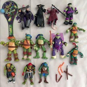 Teenage Mutant Ninja Turtles 13pc Action Figures